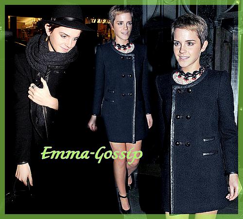 Emma & les conférences de presse.