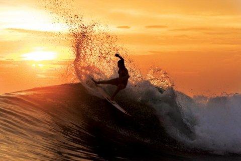 Ne faire qu'un avec la vague (♥')