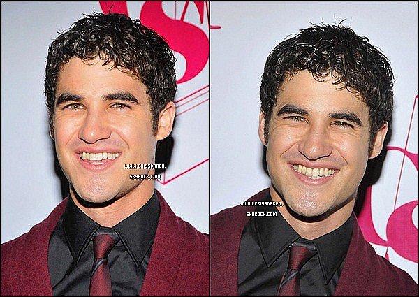 . 27/09/2011 - Darren était à la 27ième Annual C.S.A. Artios Awards. .