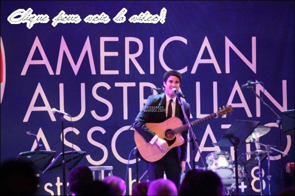 . 09/11/2011 -Darren àun dîner pour American Australian Association. Darren était superbement bien habillé à ce dîner. J'adore trop sa voix. Trois mot à dire... YOU ARE BEAUTIFUL. .