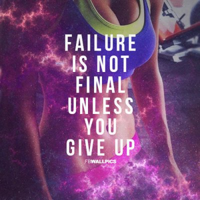 Never Ever Give Up on your Goal