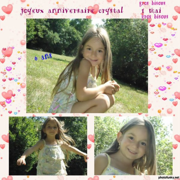 ma fille crystal