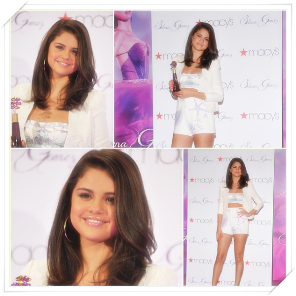 09/06/2012 : Selena Gomez pour son parfum Fragrance.
