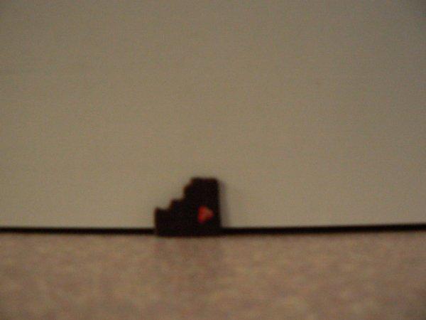 tablette de chocolat avec fraise