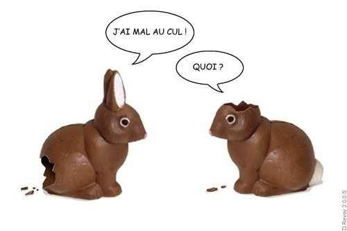 le chocolat a quelques inconvénients ...