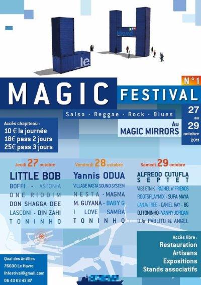 LASCONI seras présent le 27 Octobre 2011 lors du MAGIC FESTIVAL