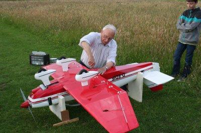 14/06/2011. premier vol du DR400 de Marcel