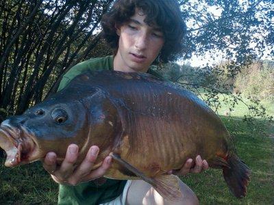 10 kg Mon record  personnel et le record de l'étang des BIIIPPP !