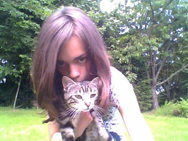 moi et mon chat une grande histoire^^