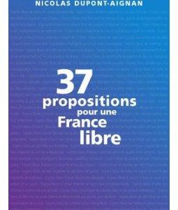 [PRESIDENTIELLE 2012] : Analyse et decryptage du programme de Nicolas Dupont- Aignan