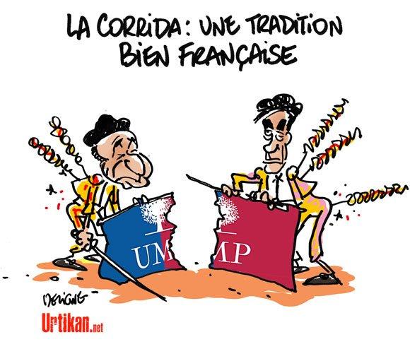 tendance : FILLON/COPE UN COMBAT DE COQ...LASSANT!!