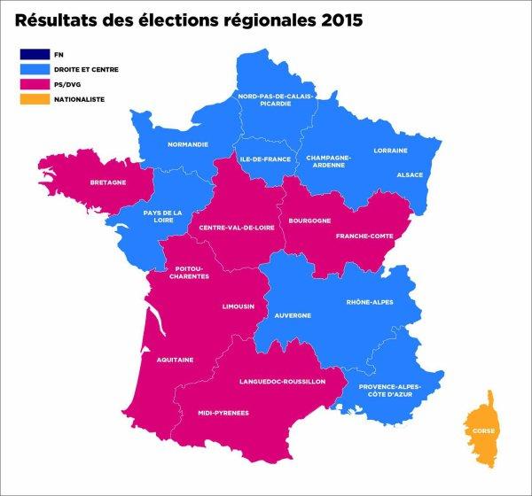 Bilan Elections Régionales :  UN OUF DE SOULAGEMENT qui sonne malgré tout comme un avertissement!