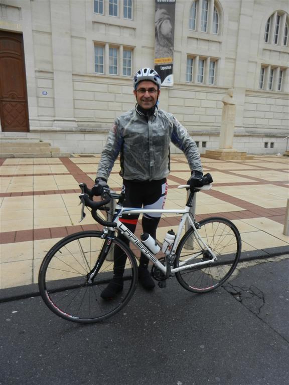Sortie Cyclo 51 ce matin avec de la pluie 105 km 3h30