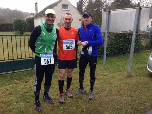 Dimanche 1er mars 2015 Trail 21.1 km des 3 Pignons a Fontainebleau