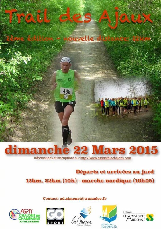 l'Evènement sportif chalonnais ce week end du 22.03.2015