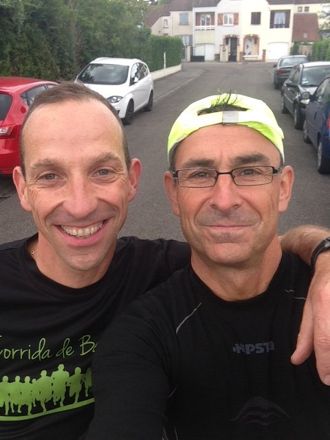 reprise course a pied avec Alain Trettel ce samedi 25.07.2015