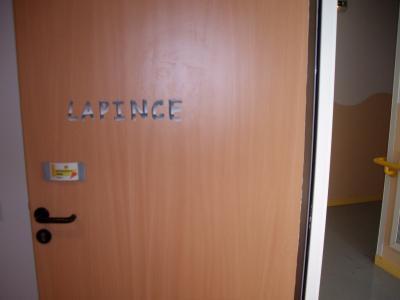 porte de ma chambre