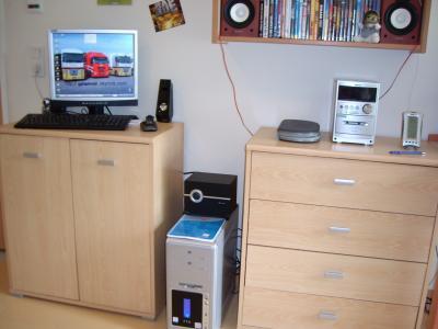 ma nouvel chambre