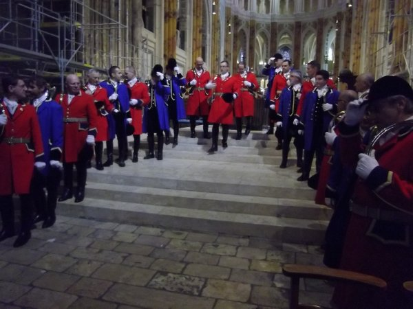 Messe & Festivités pour la St Hubert 2012 à Chartres