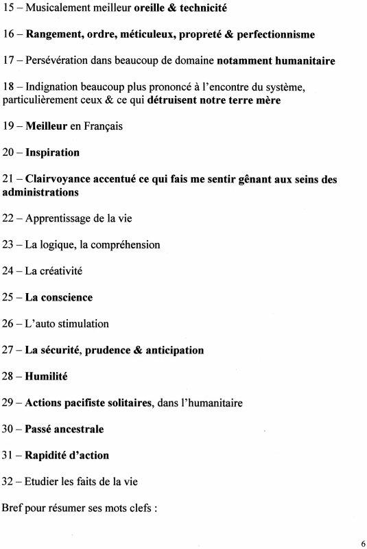 Phénomènes 2013 ?, Vida - l'amour véritable, Phylo mic - le changement est amorcé, Dossier E.M.I où Folie 3, Analyse 2013, Pièce à conviction 2, Pièce à conviction 3