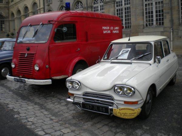 Expo du 11/06/11 au château de Lunéville