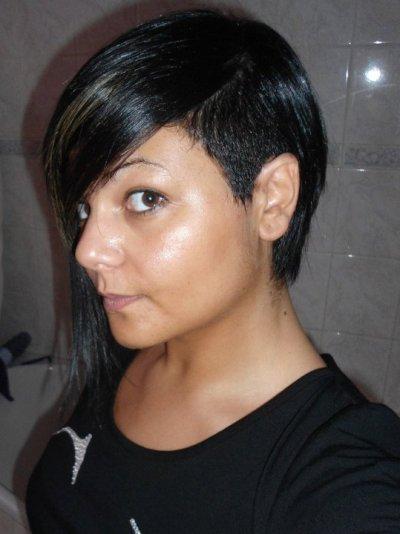 voilà un mix de mes coiffures différentes lol