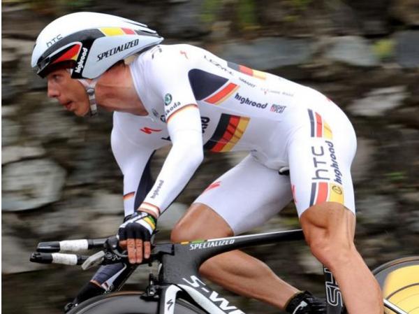 Critérium du Dauphiné: Martin domine le chrono, Vinokourov perd le maillot.