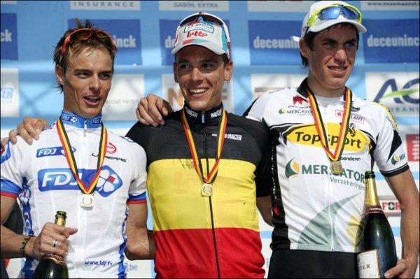 Championnats de Belgique: Gilbert, l'autre Roi des belges.