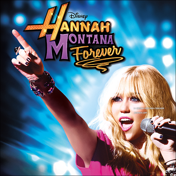 l'album d'hannah montana forever