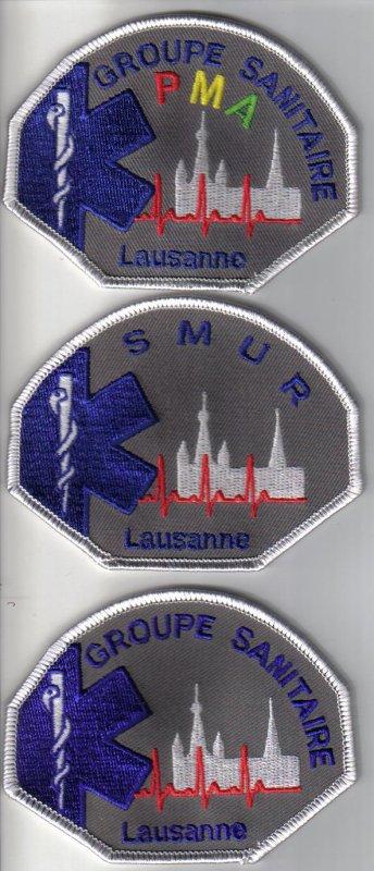 ecussons suisse  du canton de VAUD