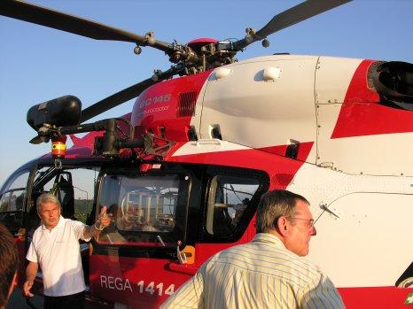 visite  base rega Lausanne avec le groupe GAS secouriste (pour Franchpimpon)
