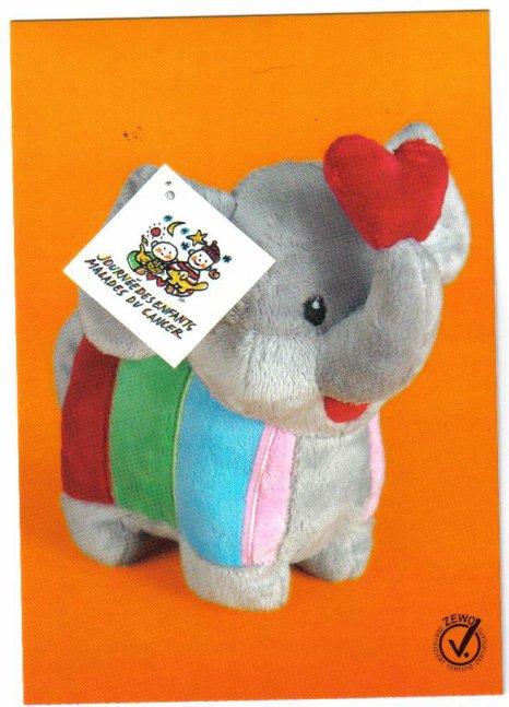 acheter la mascotte 2012  pour la journee internationale des enfants malades du cancer