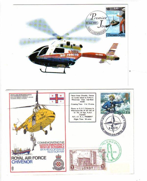 les secours heliportes dans le monde
