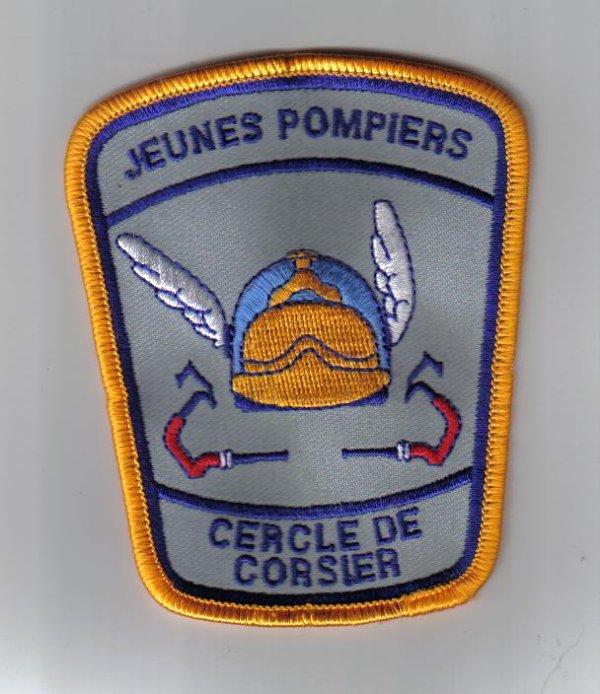 ecusson JSP  corsier /sur vevey      a echanger