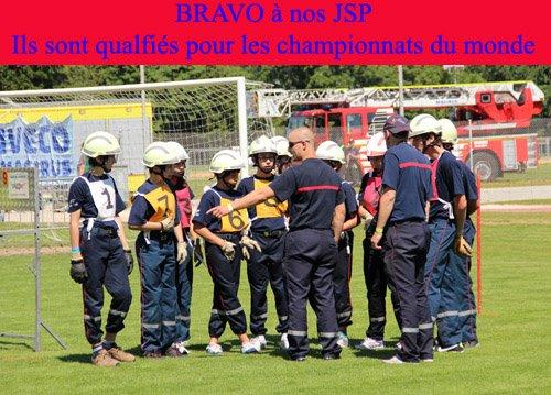 Les JSP  de Gouze et ceux  de Lausanne  iront a Mulhouse le 14 au 21 juillet 2013