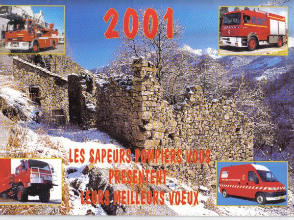 calendrier 2001   Estagel