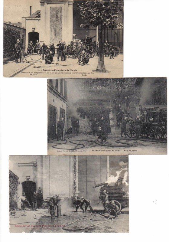 cartes postales  B.S.P.P