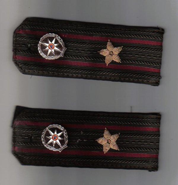 grade instructeur pompiers de Moscou