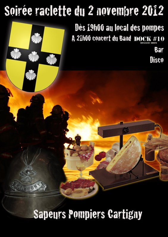 soiree raclette  cartigny pres de geneve