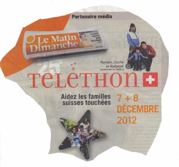 TELETHON  7 et 8 decembre    AIDER   PARTICIPER