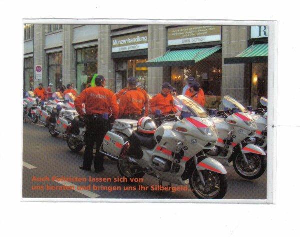 Police  de Zurich   moto  BMW