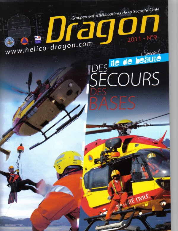 ecussons,carte, revue , Merci Dragon-BK117-C2