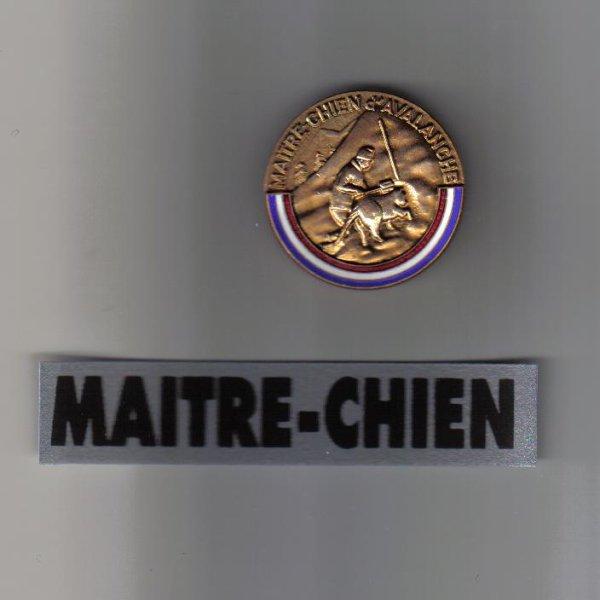 medailles maitre chien d'avalanches