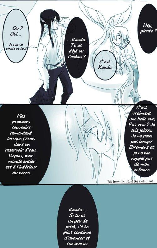 Doujinshi DGM : Kanda and Mermaid (Yullen) [partie 2]