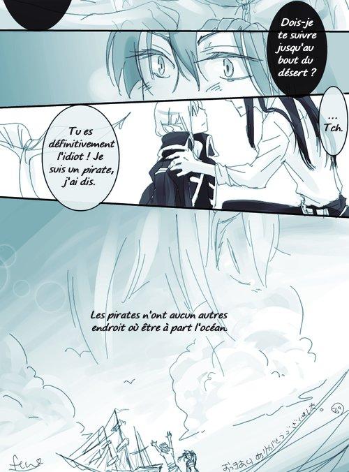 Doujinshi DGM : Kanda and Mermaid (Yullen) [partie 3]