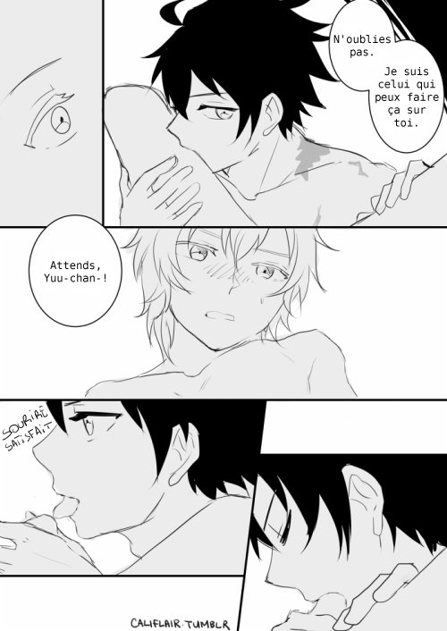 Doujinshi OnS : Scars (Mikayuu) /!\ R16 /!\ [partie 2]