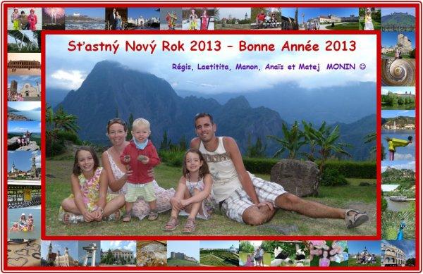 Bonne année à tous !!