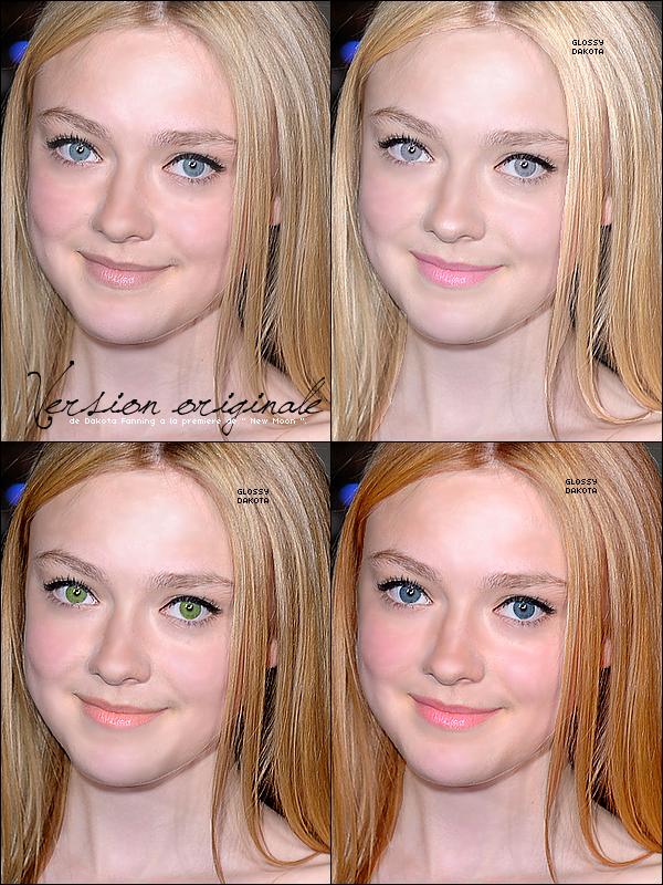 Divertissement  J'ai éssayée différentes transformations de Dakota, a vous de me dire laquelle vous préférez ! *