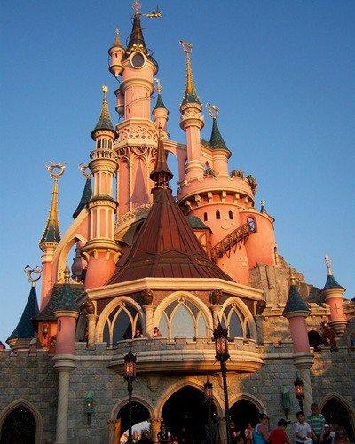 Château de la belle au bois dormant.