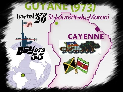 FRENCH GUYANA 973 MY HOMIE